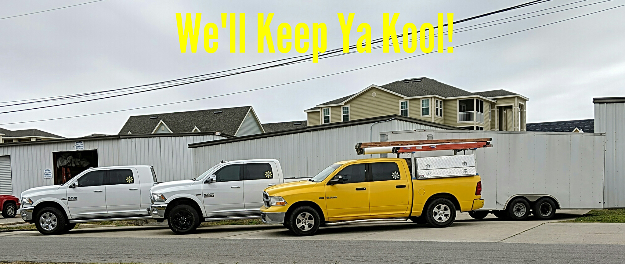We'll keep ya kool! Air conditioning sales, installation and service